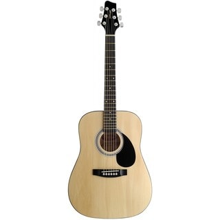 Stagg SW201 Natural 3/4 N Dreadnought Acoustic 3/4 Size Guitar