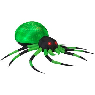 Gemmy Airblown Inflatables Projection Phantasm Spider