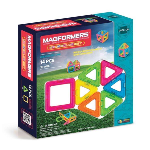 Magformers Neon 14-piece Set