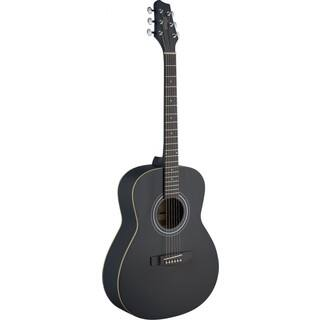 Stagg SA30A-BK Black Wood Auditorium Acoustic Guitar|https://ak1.ostkcdn.com/images/products/12108518/P18970213.jpg?impolicy=medium