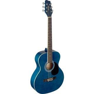 Stagg SA20A BLUE Blue Auditorium Acoustic Guitar