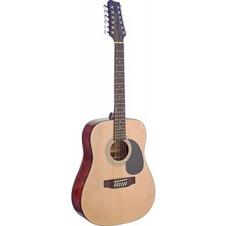 Stagg SA40D/12-N Natural Dreadnought Acoustic 12-string Guitar