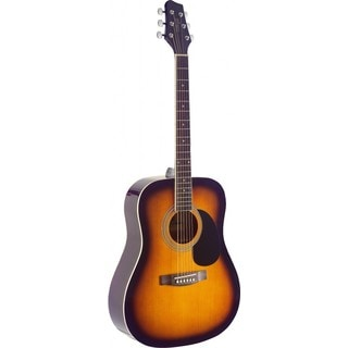 Stagg SA40D-BS Sunburst Dreadnought Acoustic Guitar