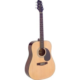 Stagg SA40D-N Natural Dreadnought Acoustic Guitar