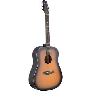 Stagg SA30D-BS Sunburst Dreadnought Acoustic Guitar