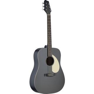 Stagg SA30D-BK Black Dreadnought Acoustic Guitar