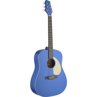 Stagg SA30D-BC Cosmic Blue Dreadnought Acoustic Guitar