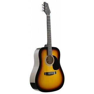 Stagg SW201SB Sunburst Dreadnought Acoustic Guitar