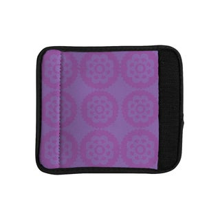 KESS InHouse Nicole Ketchum 'Moroccan Lilac' Luggage Handle Wrap