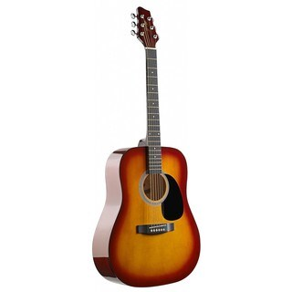 Stagg SW201CS Dreadnought Cherryburst Acoustic Guitar
