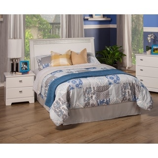 Sandberg Furniture Hailey White Laminate MDF Full Panel Headboard
