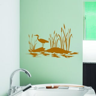 Style and Apply At the Pond Wall Decal