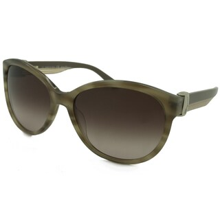 Ferragamo Women's SF651S Aviator Sunglasses