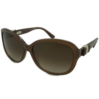 Ferragamo Women's SF658SL Rectangular Sunglasses