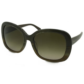 Ferragamo Women's SF678S Square Sunglasses