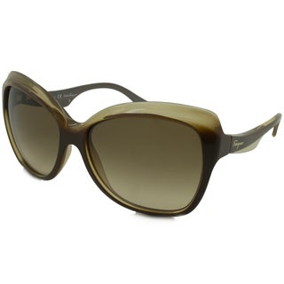 Ferragamo Women's SF706S Cat-Eye Sunglasses