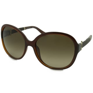 Ferragamo Women's SF764SL Square Sunglasses