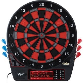 Viper Specter 42-1035 Bilingual Spanish and English Electronic Soft Tip Dartboard - Black