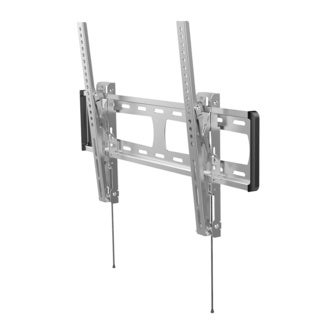 Loctek O1MT Silver Stainless Steel 32-inch to 70-inch LCD/LED Monitor Outdoor TV Wall Mount Bracket
