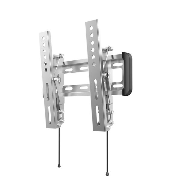 Loctek O1ST Stainless 10-inch to 42-inch Tilt LCD LED Monitor Ocean TV Wall Silver Mount Bracket