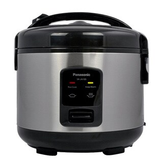 Panasonic 5-Cup Rice Cooker and Steamer Black