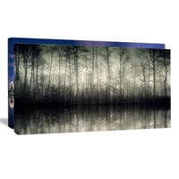 Beautiful Gray Forest in Germany - Landscape Photography Wall Art - Grey