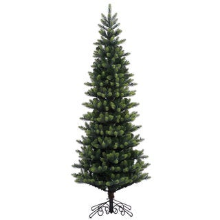 Vickerman Royal Spruce Instant Shape 7.5-foot Unlit Artificial Christmas Tree