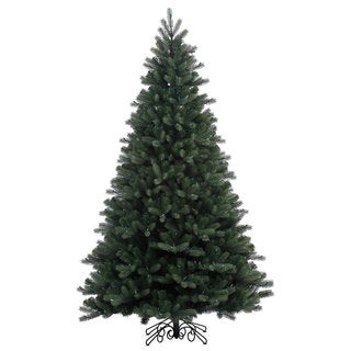 Vickerman Noble Spruce Instant Shape 7.5-foot Unlit Artificial Christmas Tree