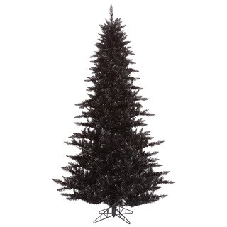 Vickerman Black PVC 3-foot Fir Unlit Artificial Christmas Tree