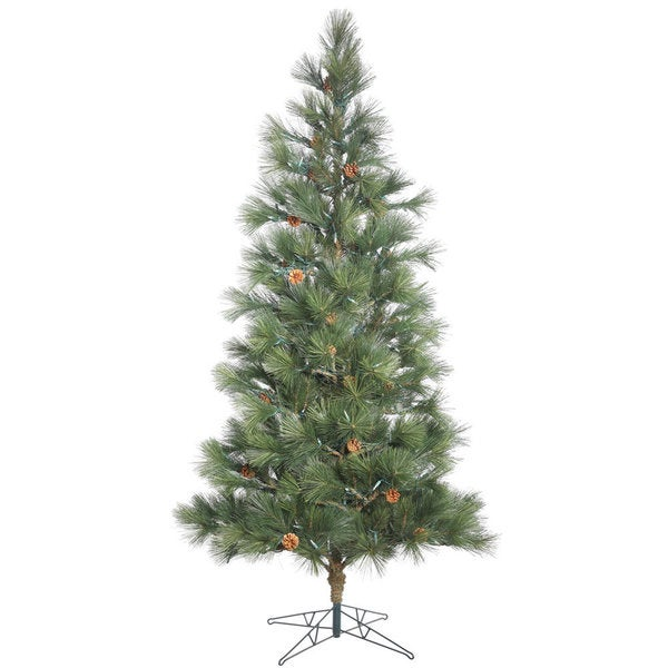 Vickerman Redmond Spruce 9-foot Unlit Artificial Christmas Tree