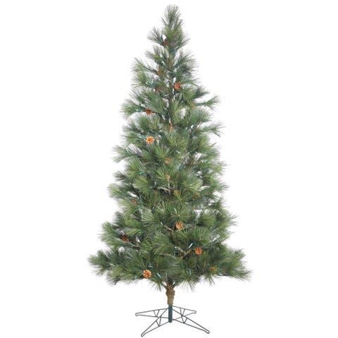 Vickerman Redmond Spruce 9-foot Unlit Artificial Christmas Tree