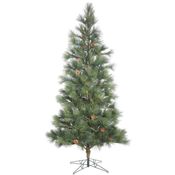 Vickerman Redmond Spruce 7.5-foot Unlit Artificial Christmas Tree - Shop Vickerman Redmond Spruce 7.5-foot Unlit Artificial Christmas