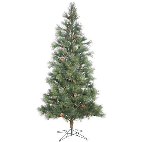 Vickerman Redmond Spruce 7.5-foot Unlit Artificial Christmas Tree