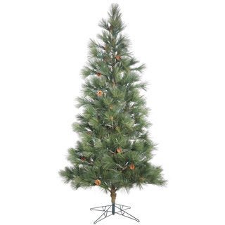 Vickerman Redmond Spruce 7.5-foot Unlit Artificial Christmas Tree