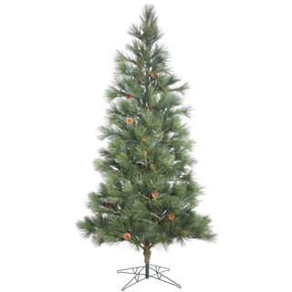 Vickerman Green Hard Needle 6-foot Redmond Spruce Unlit Artificial Christmas Tree