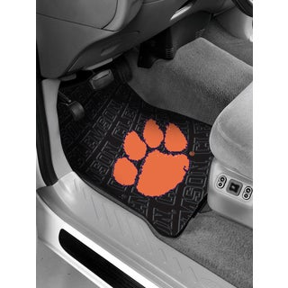 The Northwest Company COL 343 Clemson Rubber Car Front Floor Mat