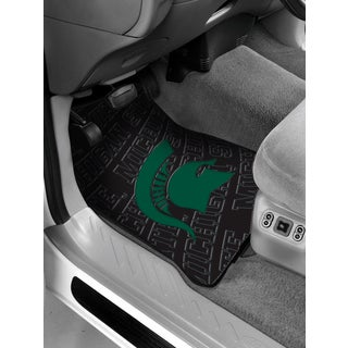The Northwest Company COL 343 Michigan State Car Front Floor Mats (Set of 2)