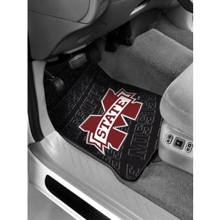 The Northwest Company COL 343 Mississippi State Multicolored Rubber Car Front Floor Mat