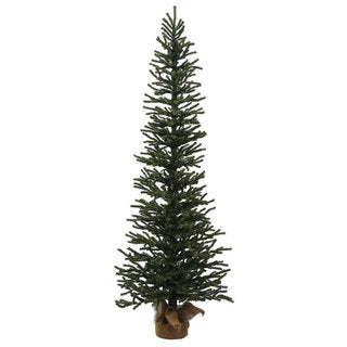 Vickerman Green Plastic 4-foot Mini Pine Unlit Artificial Christmas Tree