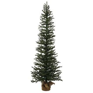 Vickerman Green Plastic 4-foot Mini Pine Unlit Artificial Christmas Tree