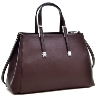 Dasein Faux Buffalo Classic Briefcase with Removable Shoulder Strap