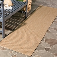 Safavieh Indoor/ Outdoor Courtyard Natural/ Cream Rug (2' 3 x 8') - 2'3 x 8'