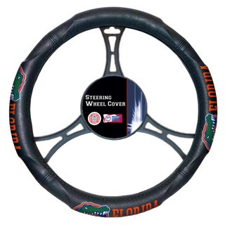 The Northwest Company COL 605 Florida Multicolored Car Steering Wheel Cover