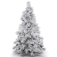 Flocked Alberta 9' Artificial Christmas Tree Unlit