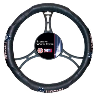 The Northwest Company COL 605 UConn Car Steering Wheel Cover
