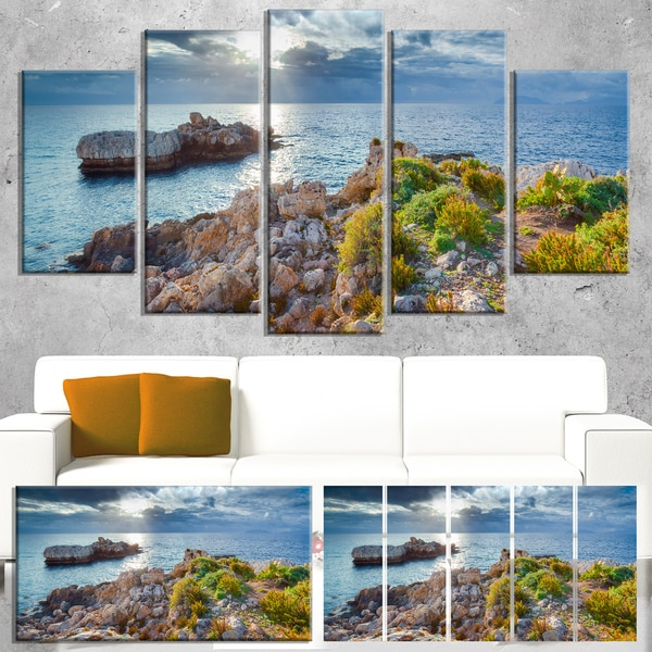 Piscina di Venere Reserve - Landscape Photo Canvas Art Print