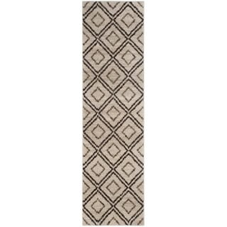 Safavieh Tunisia Cream/ Brown Rug (2' 3 x 8')