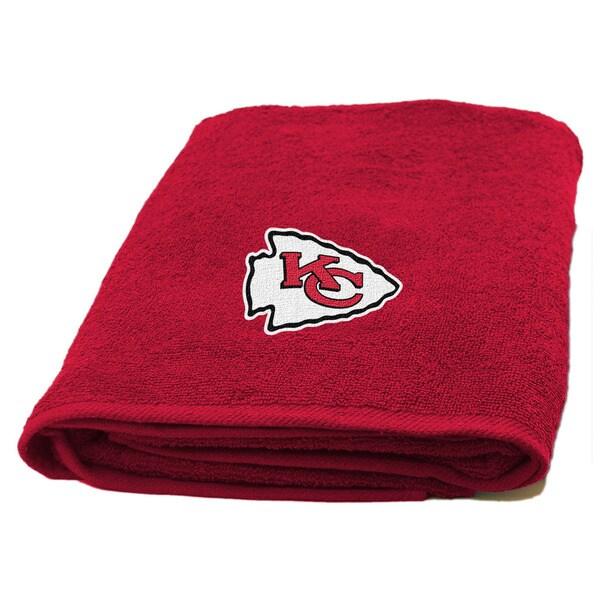 NFL 929 Chiefs Applique Bath Towel