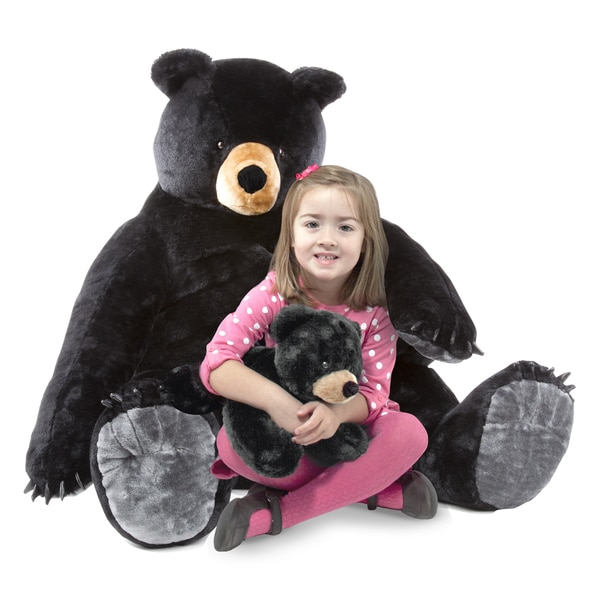 Melissa & Doug Black Bear and Cub
