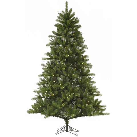 Vickerman Rockwell Spruce 7-foot Artificial Christmas Tree with 350 Clear Lights